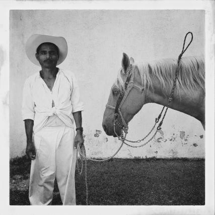 "Huehuetonoc, Guerrero, Mexico. ""Family Matters"" - Don Gerardo and his horse El Guero in Huehuetonoc, Guerrero. Photo © Adriana Zehbrauskas"