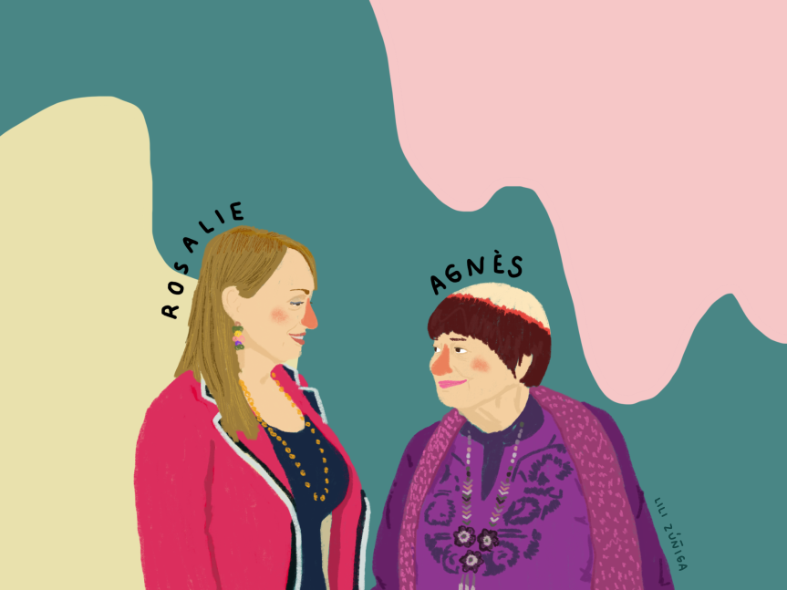 Women We Love: Rosalie y Varda por Agnès