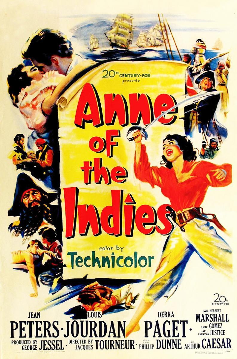 #FICUNAM2020: Review: Anne of the Indies (1951) o La MujerPirata